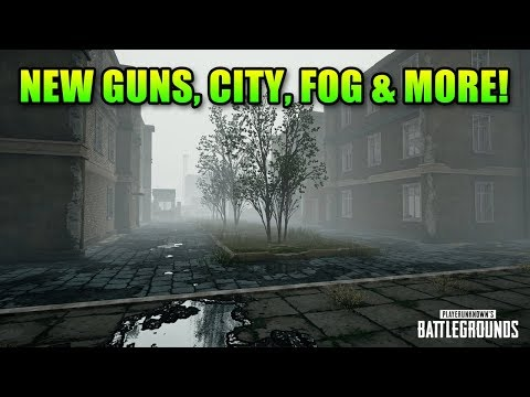 Mini 14, Thompson, New City, Fog & More! | PUBG Patch Overview