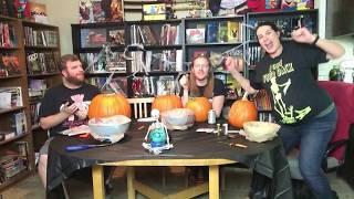 Pumpkin-Carving Q & A LIVE! - The Horror Show Podcast #183