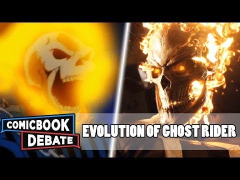 Evolution of Ghost Rider in Cartoons, Movies & TV in 7 Minutes 2018