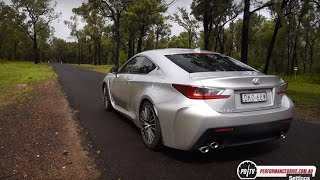 2017 Lexus RC F 0-100km/h & engine sound