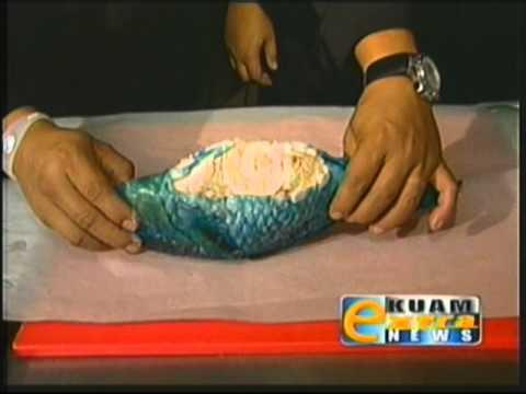 Gof Mangge - Chef Peter's Stuffed Parrot Fish