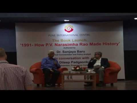 Pune International Centre: 1991-How P.V. Narasimha Rao made history.