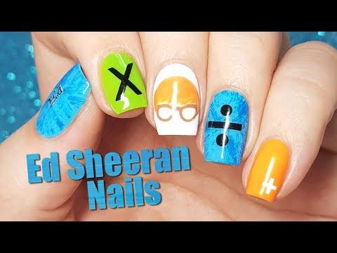 Ed Sheeran Nail Art | Divide Tour Nails