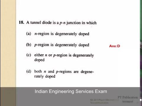 INDIAN ENGINEERING SERVICE EXAMINATION 2013