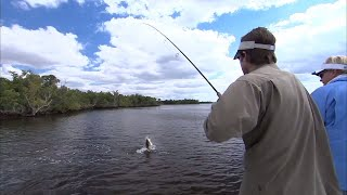 Mirrolure Mirrodine Fishing for Everglades Monster Snook