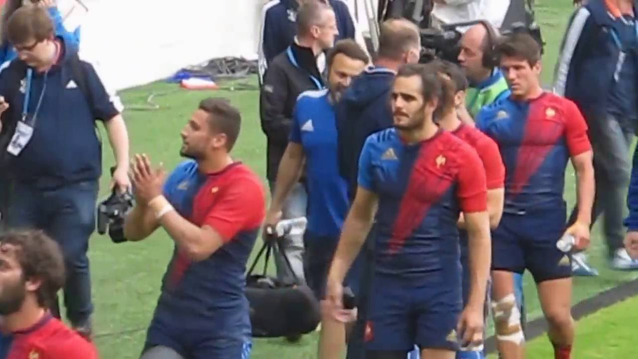 RESUME VIDEO Rugby La France Bataille Pour D Crocher L Or Olympique Face L  Argentine Dailymotion
