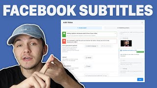 How to upload subtitle files to your Facebook videos in 2020