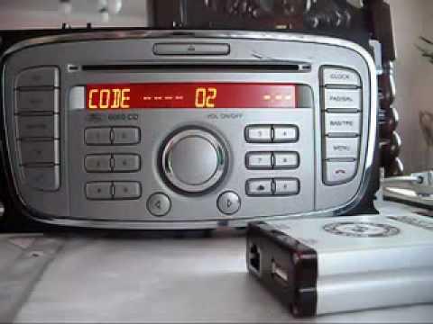 ford focus 03 radio code