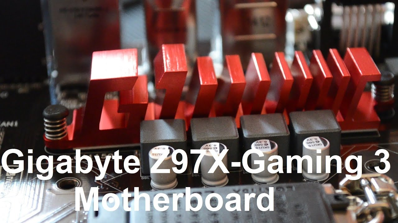 Gigabyte Z97X Gaming 3 Motherboard Overview