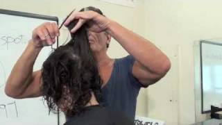 HAIRCUTTING; FINE AND CURLY HAIR to ADD VOLUME by RICO ALTIERI