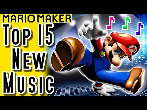 Super Mario Maker TOP 15 MUSIC LEVELS (Wii U)