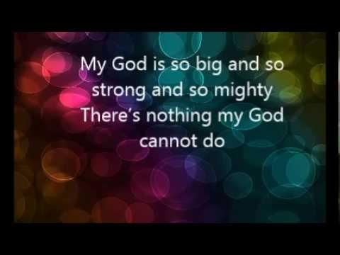 My God by Go Fish Guys Lyrics