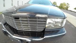 4K Review 1996 Cadillac Fleetwood Limousine Virtual Test-Drive & Walk-around