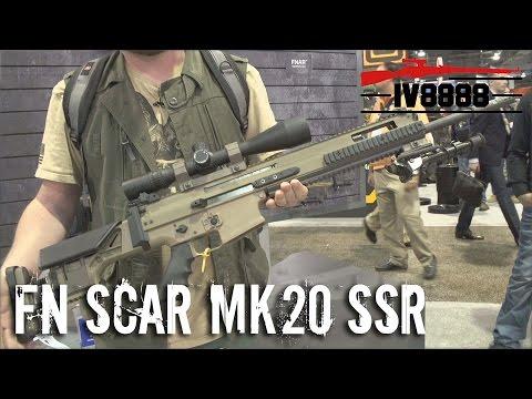 SHOT Show 2016: New FN SCAR MK20 SSR