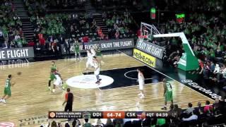 Luke Harangody vs CSKA Moscow