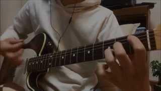 サケロック MUDAのギターをコピー。