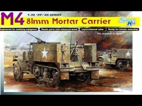 Kit Review: Dragon M4 81mm Mortar Carrier