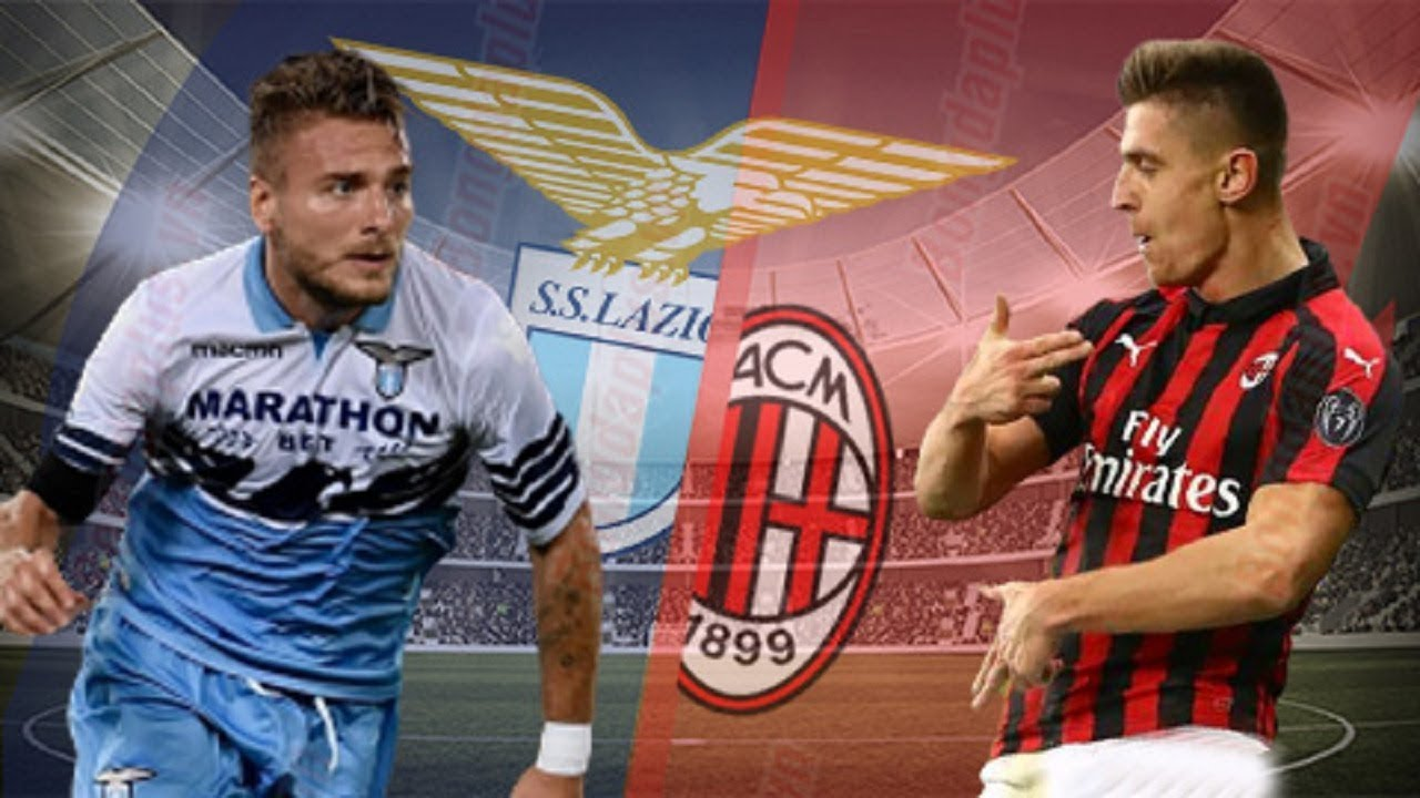 Lazio Vs Milan Italy Coppa Italia Youtube