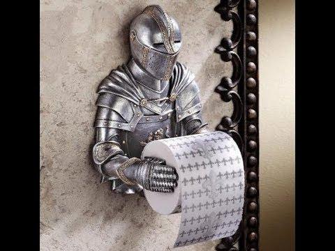 Toilet roll holder creative ideas