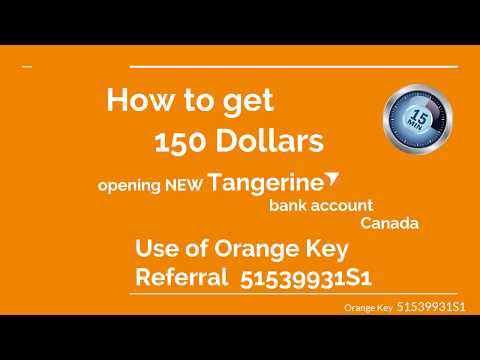 How to get 150 dollars Opening bank account in Canada! Promocode 51539931S1
