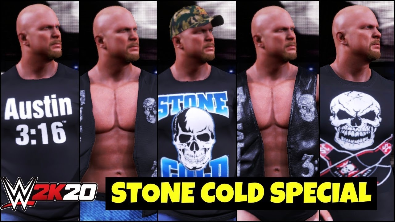 WWE 2K20 'STONE COLD' Special Gameplay | FAIL GAME LIVE 2K20 THEME GAMEPLAY !
