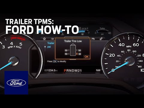 Ford King Ranch 2017 >> Trailer Tire Pressure Monitoring System (TPMS) | Ford How ...