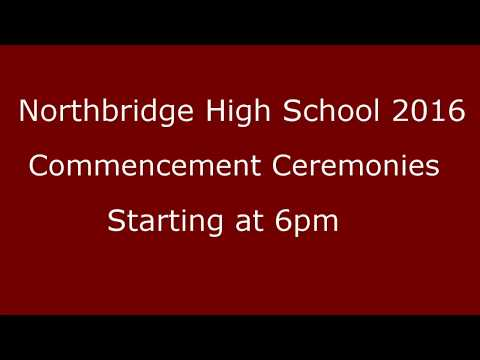 2016 Northbridge High School Graduation