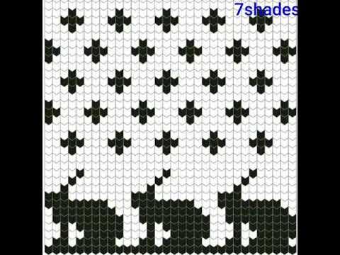 Beautiful Graph Pattern For Sweater Border Graph Knitting Pattern