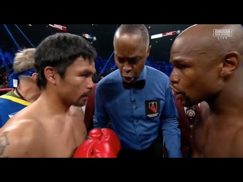 CRAZY BOXING INTRO- MANNY PACQUIAO VS FLOYD MAYWEATHER + RESULT