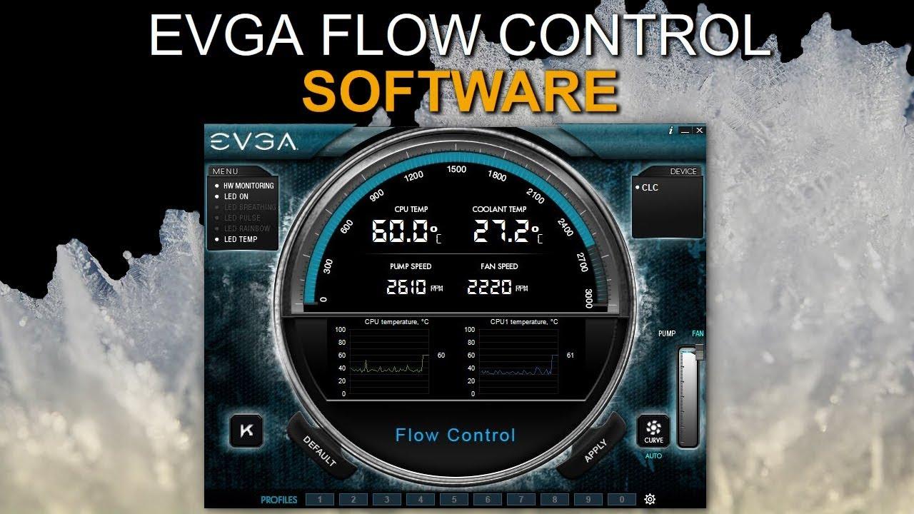 EVGA Flow Control Overview (EVGA CLC Software)
