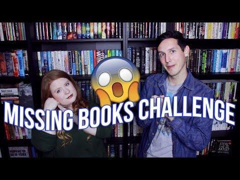 MISSING BOOKS CHALLENGE!