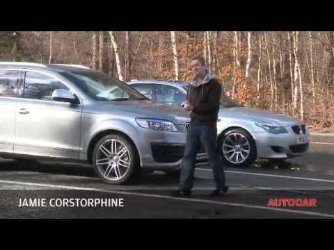 Audi Q V BMW M By Autocarcouk YouTube - Audi q 745 car
