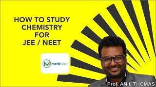 how to study chemistry for neet