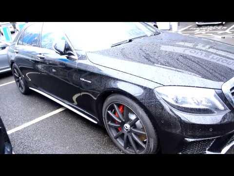 2015 Mercedes S Class S63 V12 AMG Sport BLACK £140,000 00!!!