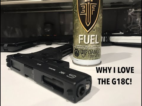 Why i love the Glock 18C! Featuring WE Tech G18C!