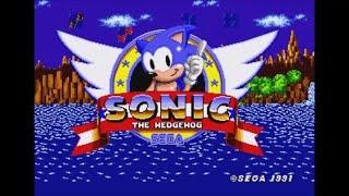 Sonic 1 No-Name (Genesis) - Longplay