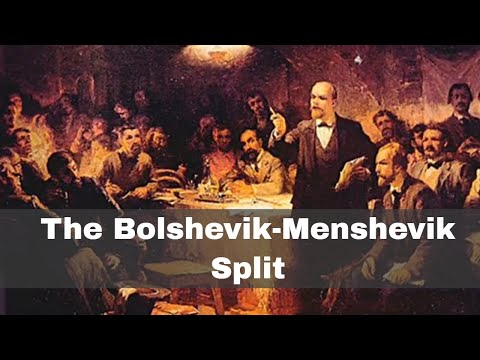 17th November 1903: The Bolshevik-Menshevik split within the Russian Social Democratic Labour Party