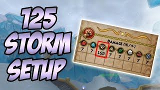 Wizard101: 125 Storm Gear Setup - BIG STORM DAMAGE
