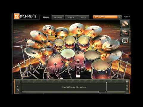 Jamrud - Cerita Usang Drum Cover (Ez Drummer 2)