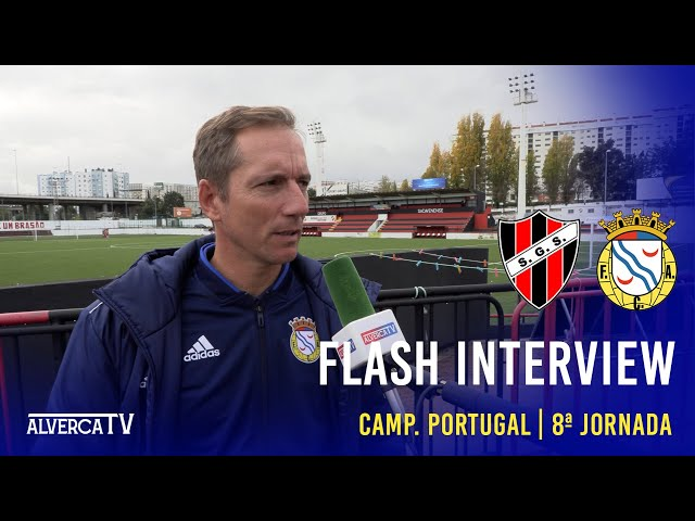 SG Sacavenense 1-0 FC Alverca Flash Interview