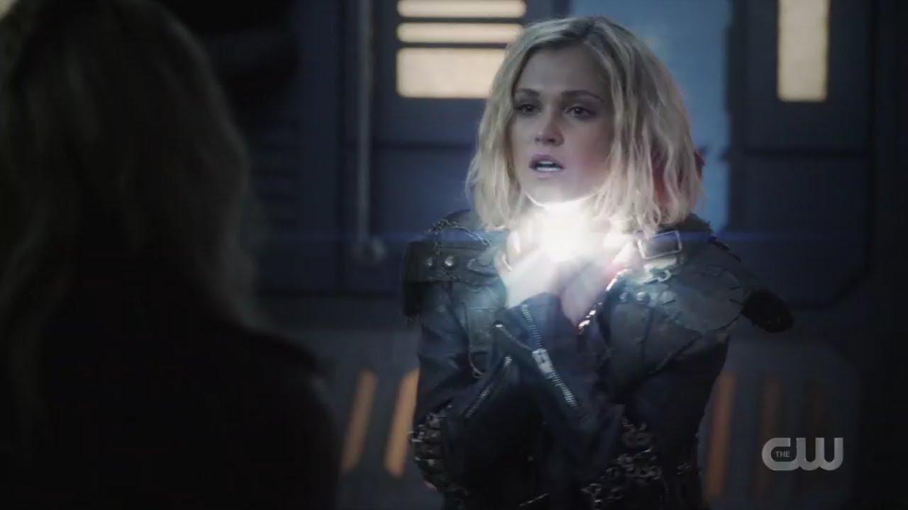 Download Bellamy saves Clarke life/ The 100 season 6 episode 10