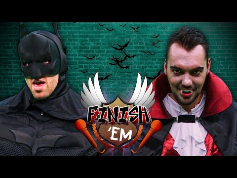 Batman vs Dracula - FINISH HIM!