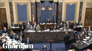 Trump impeachment: trial begins in US Senate – watch live
