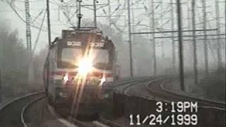 Amtrak NEC 1995 and 1999