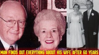 MAN FINDS SOMETHING HIS WIFE OF 60 YEARS LEAVES BEHIND THAT REVEALS THE TRUTH ABOUT THEIR RELATIONSH