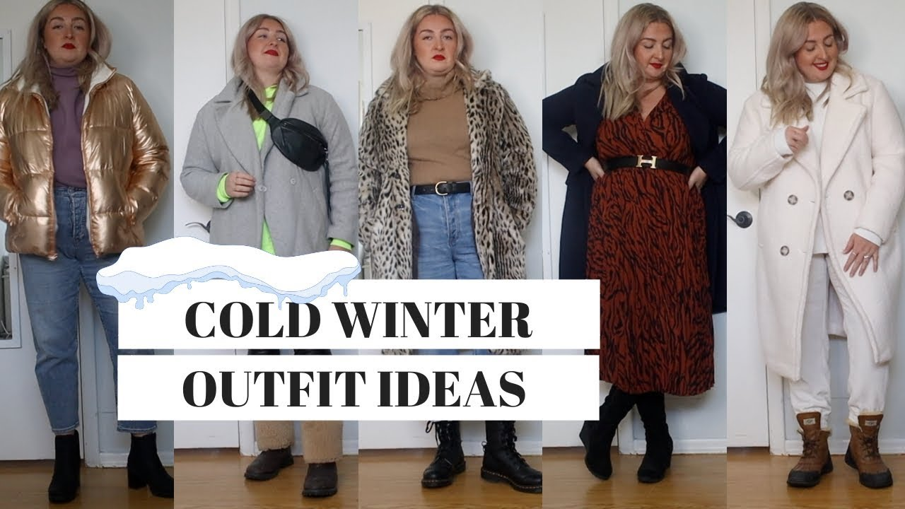 [VIDEO] - Cold winter outfit ideas | Size 16 XL fashion 4