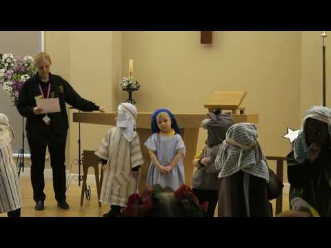 Sunshine Pre-School Nativity Play, Droylsden Manchester UK 12th December 2016