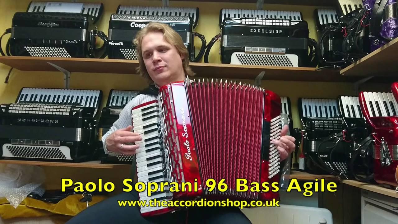 Paolo Soprani 96 Bass Agile YouTube