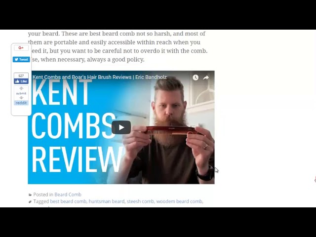Best Beard Comb – Give me Trimmer