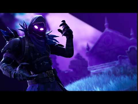 Fortnite Animated Wallpaper The Raven Blurred Background